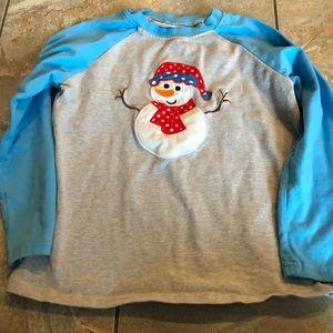 Other - Boys snowman tee